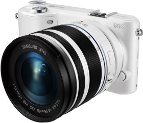 Samsung NX2000 weiß mit Objektiv 18-55mm i-Function