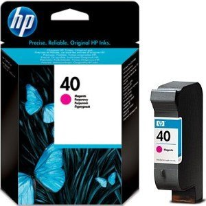 HP Printhead with ink Nr 40 magenta (51640ME)