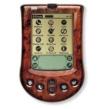Palm P10730U Palm m100 faceplate Cover - Burl Wood (Palm m100/m105)