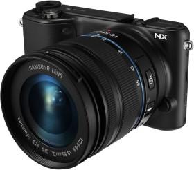 Samsung NX2000 schwarz mit Objektiv 18-55mm i-Function