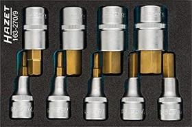 """Hazet 163-270/9 allen screw wrench set 1/2"""", 9-piece."""