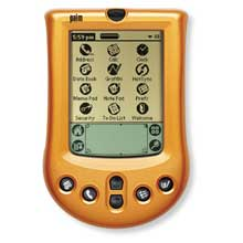 Palm P10733U Palm m100 Faceplate Cover - Tangerine Twist (Palm m100/m105)