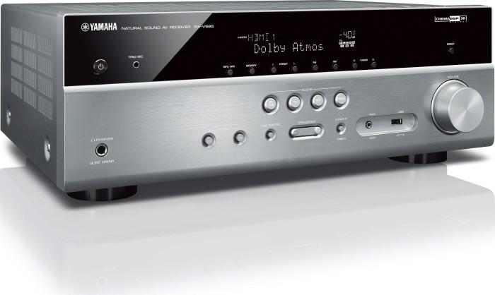 Yamaha RX-V585 silber
