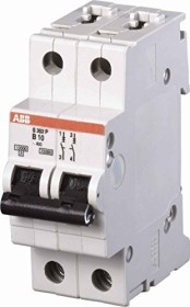 ABB Sicherungsautomat S200P, 2P, B, 32A (S202P-B32)