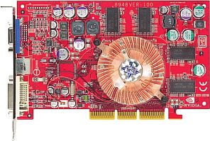 MSI FX5700VTD128, GeForceFX 5700, 128MB DDR, DVI, ViVo, AGP (MS-8948-020)