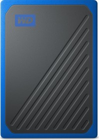 Western Digital WD My Passport Go blau 500GB, USB 3.0 Micro-B (WDBMCG5000ABT-WESN)