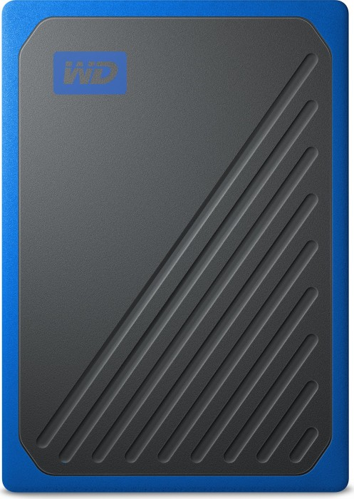 Western Digital WD My Passport Go blue 500GB, USB 3.0 micro-B (WDBMCG5000ABT-WESN)