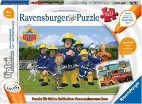 Ravensburger tiptoi Puzzle: Puzzle für kleine Entdecker: Feuerwehrmann Sam (00046)