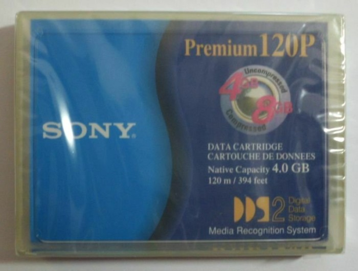 Sony DDS-2 Cartridge 8GB/4GB (DGD-120) -- via Amazon Partnerprogramm
