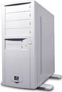 AOpen H600A Midi-Tower white (various Power Supplies)
