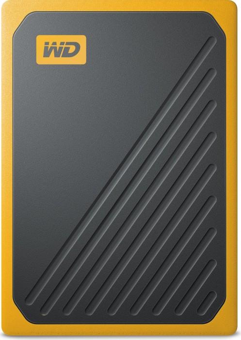 Western Digital WD My Passport Go yellow 1TB, USB 3.0 micro-B (WDBMCG0010BYT-WESN)