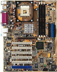 ASUS P4GE-VL, i845GE, VGA, LAN (PC-2700 DDR)