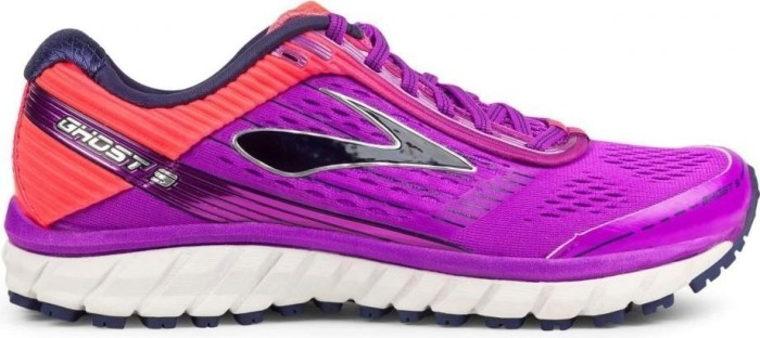 Brooks Damen Ghost 9 W Laufschuhe, Pink (Purplecactusflower/Divapink/Patriotblue), 40 EU