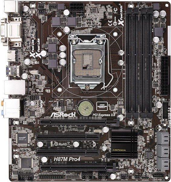 ASRock H87M Pro4 (90-MXGPE0-A0UAYZ)
