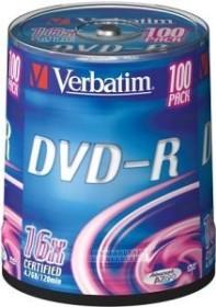 Verbatim DVD-R 4.7GB 16x, 100er Spindel (43549)