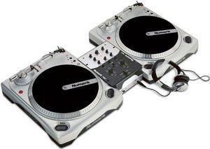 Numark DJ in a box silver