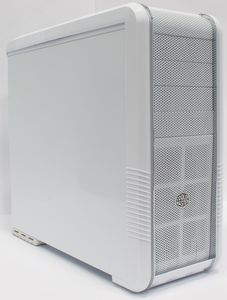 Cooler Master CM 690 II Lite white, noise-insulated