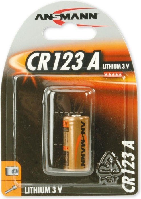 Ansmann CR123A Photo Lithium 3V (5020012)