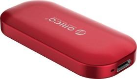 Orico iMatch IV300 SSD rot 500GB, USB-C 3.1 (IV300-500G-RD-BP)