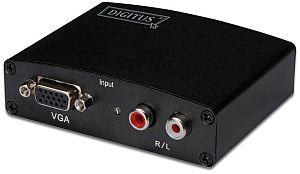 Digitus VGA/Audio auf HDMI Adapter (DS-40130)
