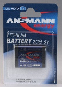 Ansmann 2CR5 Photo Lithium 6V (5020032)