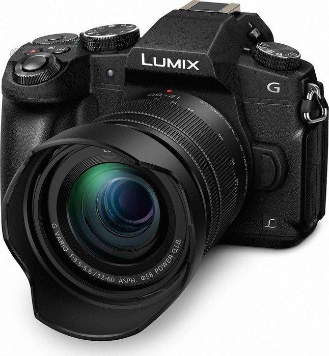 Panasonic Lumix DMC-G81 schwarz mit Objektiv Lumix G Vario 12-60mm 3.5-5.6 ASPH Power OIS (DMC-G81M)