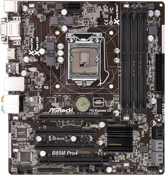 ASRock B85M Pro4 (90-MXGQ20-A0UAYZ)