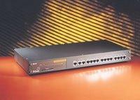 D-Link DES-815, 10/100 Mbit 15-port switch (12 x 10 Mbit RJ-45, 2 x 100 Mbit RJ-45, MII)