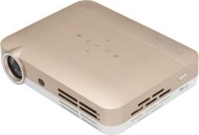 Optoma E1P2V004E021<br>Optoma ML330 LED-Projector WXGA 500Lumen 3D-Ready HDMI/MHL/USB/LAN LS gold/white