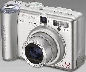 Canon PowerShot A75 (various Bundles)