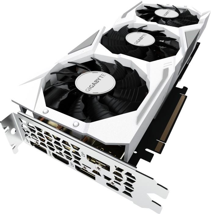 Gigabyte GeForce RTX 2080 Gaming OC White 8G, 8GB GDDR6, HDMI, 3x DP, USB-C (GV-N2080GAMINGOC WHITE-8GC)
