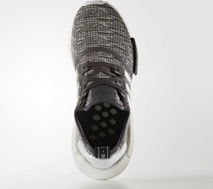 adidas NMD R1 utility blackfootwear whitemedium grey heather solid grey (Damen) (BY3035)