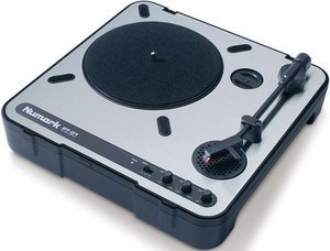 Numark PT01 Turntable silver (portable)
