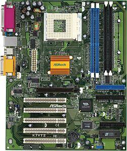 ASRock K7VT2, KT266A (2x SDR/2x DDR)