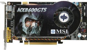 MSI NX8600GTS Diamond Plus, GeForce 8600 GTS, 512MB DDR3, DVI, HDMI, TV-out, PCIe (V089-080R)