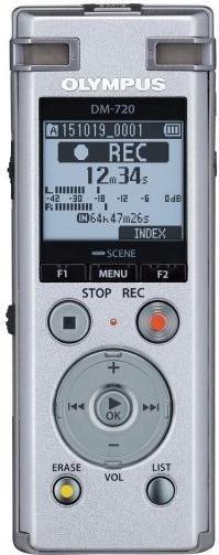 Olympus DM-720 Digitales Diktiergerät (V414111SE000)