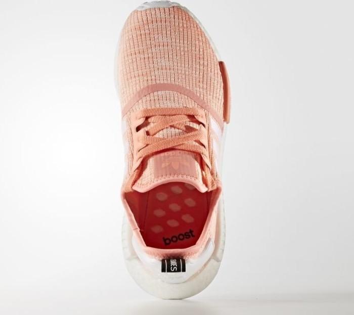 18da470e5 adidas NMD R1 sun glow footwear white haze coral (ladies) (BY3034 ...