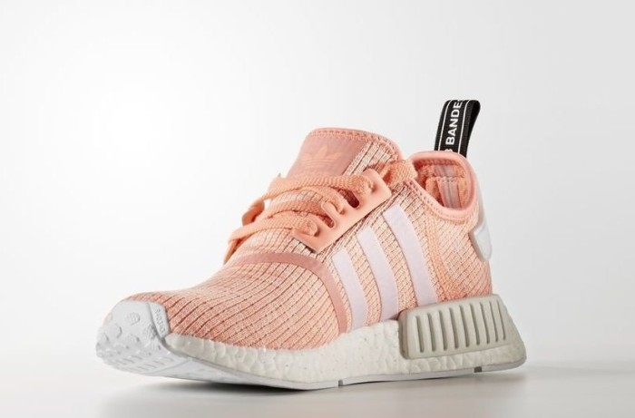 f066154f2 adidas NMD R1 sun glow footwear white haze coral (ladies) (BY3034) starting  from £ 89.99 (2019)