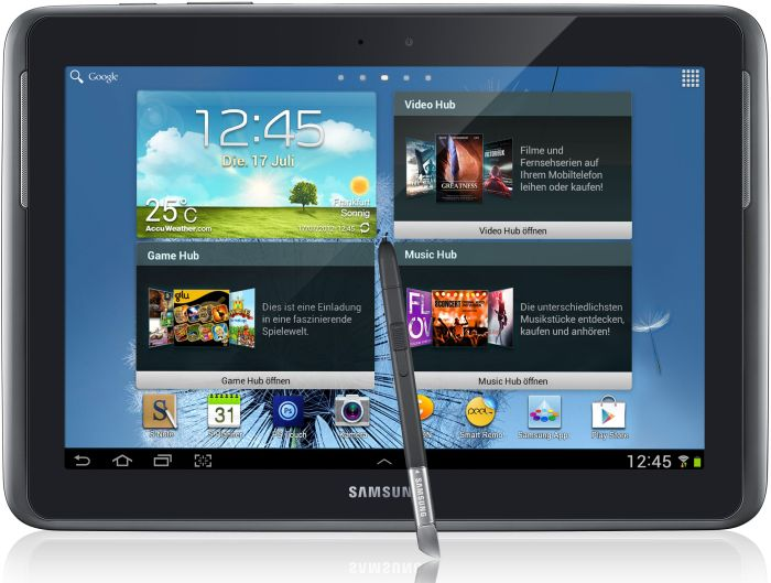 Samsung Galaxy Note 10.1 N8000 32GB, black/grey (GT-N8000EAE) -- (c) tabtech.de