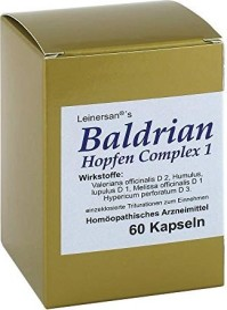 Diamant Natuur Baldrian Hopfen Complex Kapseln, 60 Stück