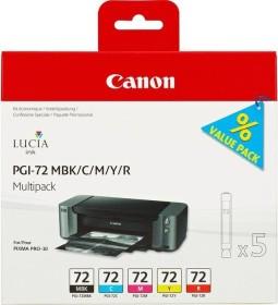 Canon Tinte PGI-72MBK/C/M/Y/R Multipack (6402B009)