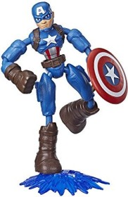 Hasbro Marvel Bend and Flex Captain America (E7869)