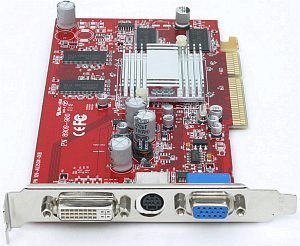 connect3D Radeon 9600, 128MB DDR, DVI, TV-out, AGP (6035)