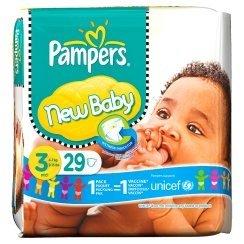Pampers Premium Protection New Baby Gr.3 Einwegwindel, 4-7kg, 29 Stück