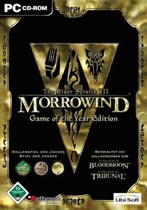 Elder Scrolls 3 - Morrowind GOTY (German) (PC)