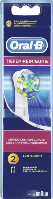 Braun Oral-B brush heads deep cleaning, 2-pack (EB25-2) -- via Amazon Partnerprogramm