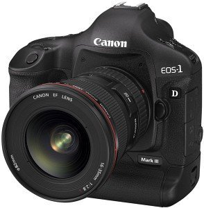 Canon EOS 1D Mark III black body (1888B009)