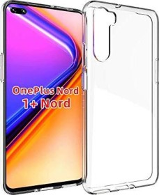 FanTing Soft TPU Hülle für OnePlus Nord transparent