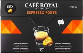 Café Royal Espresso Forte Nespresso-Kaffeekapseln, 33er-Pack