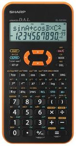 Sharp EL-531XHYR orange